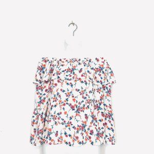 Sienna Sky Floral Off The Shoulder Top Size XS